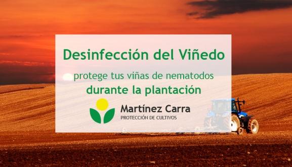 Desinfección del terreno para evitar los nematodos en el viñedo riojano