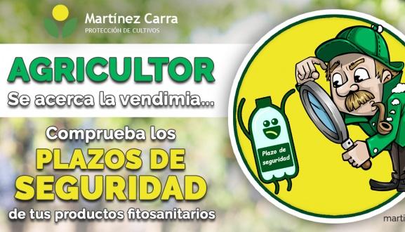 Plazos de seguridad en productos fitosanitarios y productos ecológicos