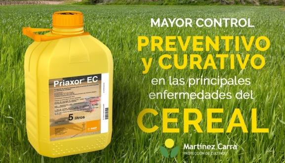 Protege tus cultivos de cereal de las enfermedades con Priaxor EC