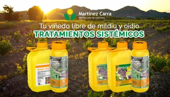 Tratamientos sistémicos contra mildiu y oidio en La Rioja