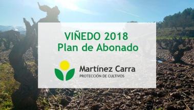 Plan de abonado para viñedo en este 2018