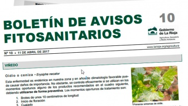 Boletín de avisos fitosanitarios de La Rioja 10