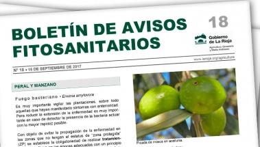 Boletín de Avisos Fitosanitarios de La Rioja 18