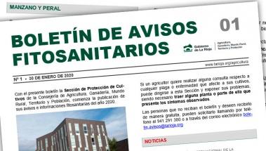 Boletín 1 de avisos fitosanitarios de La Rioja | 2020
