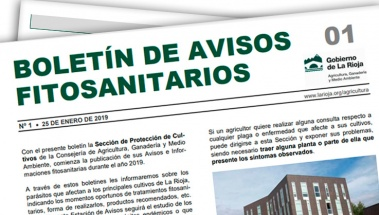 Boletín de Avisos Fitosanitarios de La Rioja 01- 2019