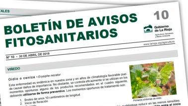Boletín 10 de avisos fitosanitarios de La Rioja | 2019