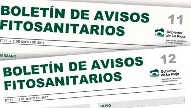 Boletín de avisos fitosanitarios de La Rioja 11 y 12