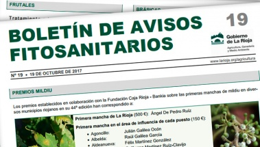 Boletín de Avisos Fitosanitarios de La Rioja 19