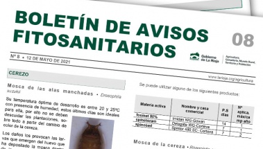 Boletín 8 de avisos fitosanitarios de La Rioja | 2021