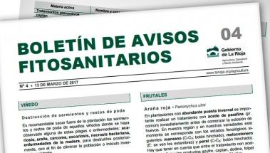Boletín de avisos fitosanitarios de La Rioja 04