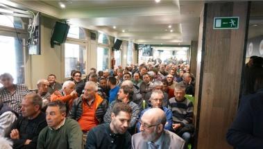 Jornadas de presentación de Enervin Top de Basf en Sidrería Petritegi