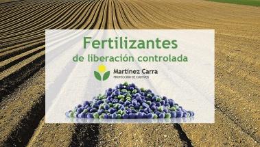 Fertilizantes de liberación controlada para viñedo y cultivos