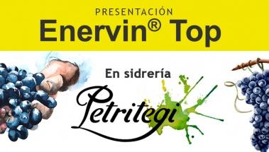 Presentación de Enervin Top en sidrería Petritegi