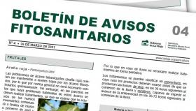 Boletín 4 de avisos fitosanitarios de La Rioja | 2021