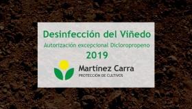 Autorización excepcional para desinfección de suelos de viñedos en La Rioja